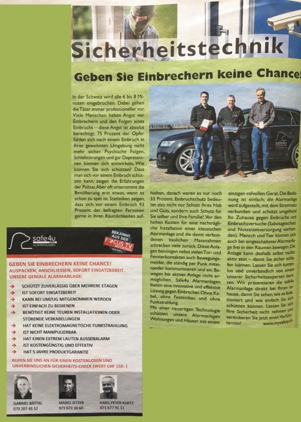 Sicherheitsbericht_Team_Kreuzlinger Zeitung